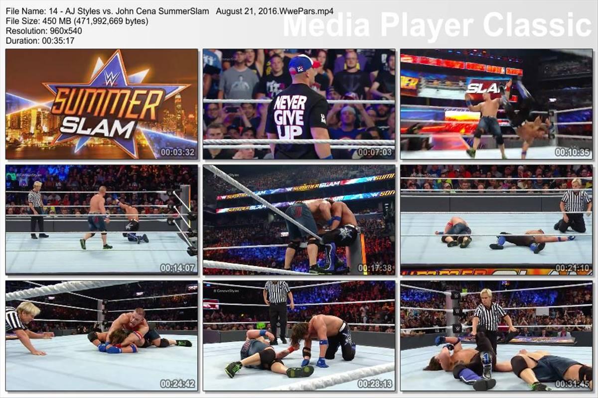 AJ Styles – Most Phenomenal Matches